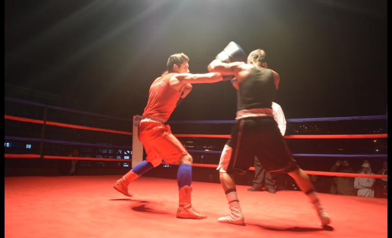 Boxeo en Ovalle