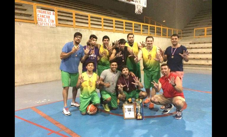 basquetball, Ovalle, campeón