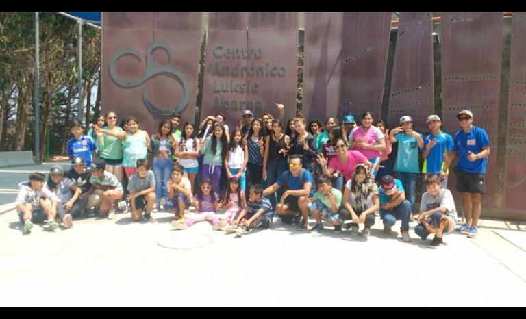 Juaneb, Punitaqui, estudiantes, verano
