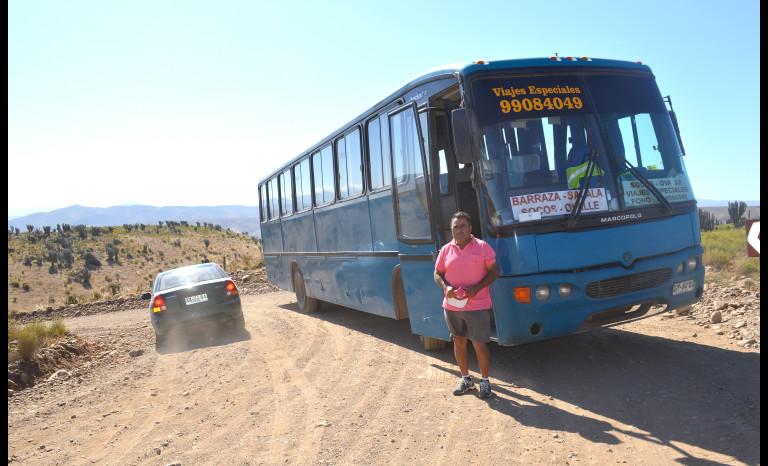 irregularidades, microbuses rurales