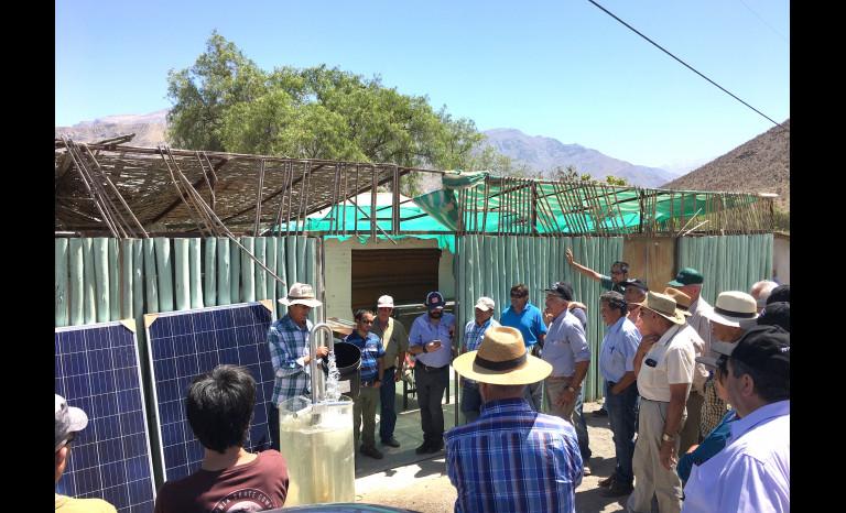 Corfo, gestión hídrica, agricultores