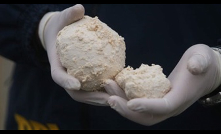 La sustancia encontrada fue pasta base (imagen referencial)