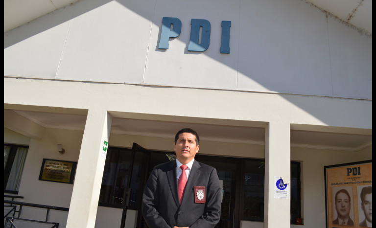 Abel Lizama Pino es el actual Prefecto de la PDI Elqui -Limarí.