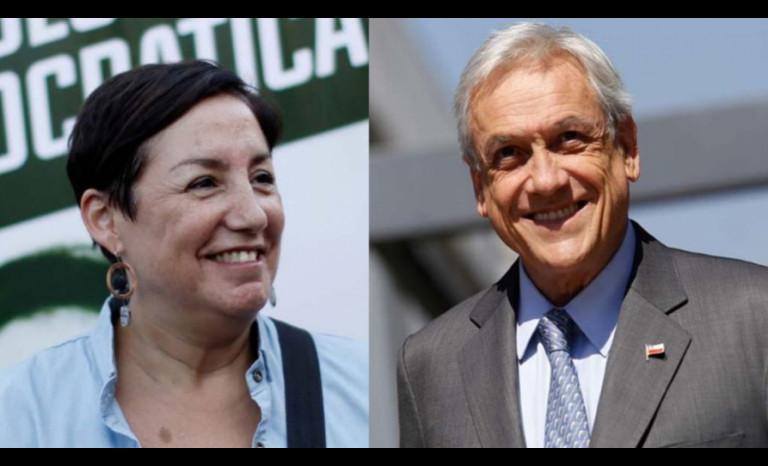 Beatriz Sánchez y Sebastián Piñera van por el sillón presidencial