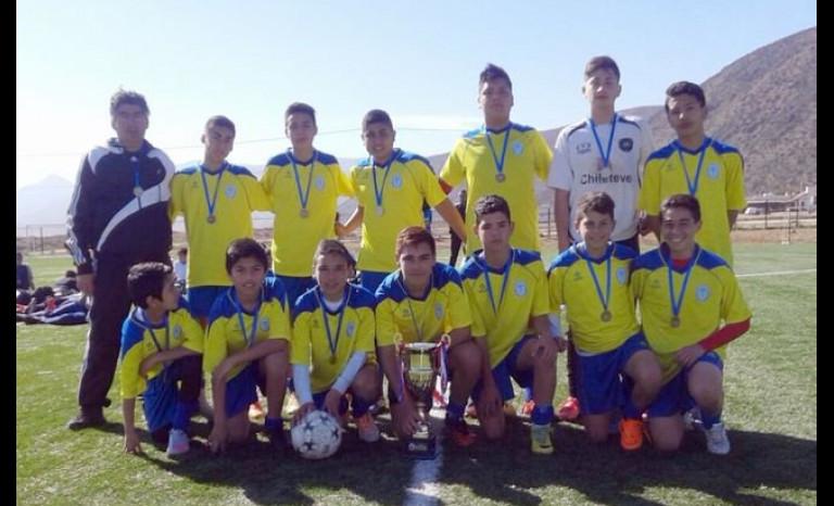 Equipos ovallinos son campeones regionales