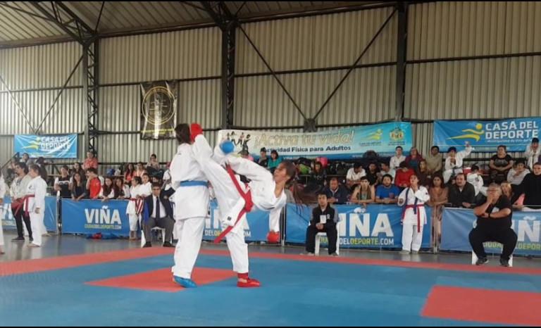 Karate ovallino instala a nueve deportistas en torneo nacional