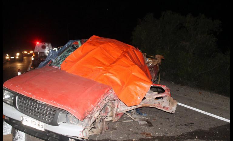 Accidente en Ruta D-43 deja a un conductor fallecido