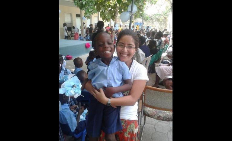 Ovallina desde Haití relata su  experiencia como voluntaria social