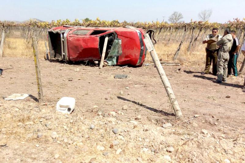 Accidente en Camarico