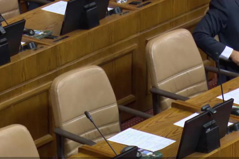 Cámara por falta de diputados