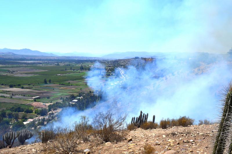 Incendio, La Chimba