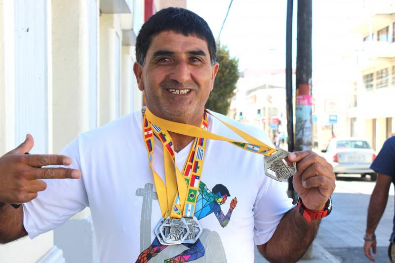 Hugo Cataldo, atletismo