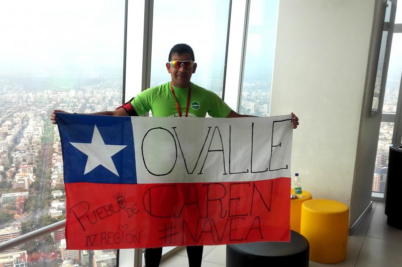 Omar Navea, atletismo