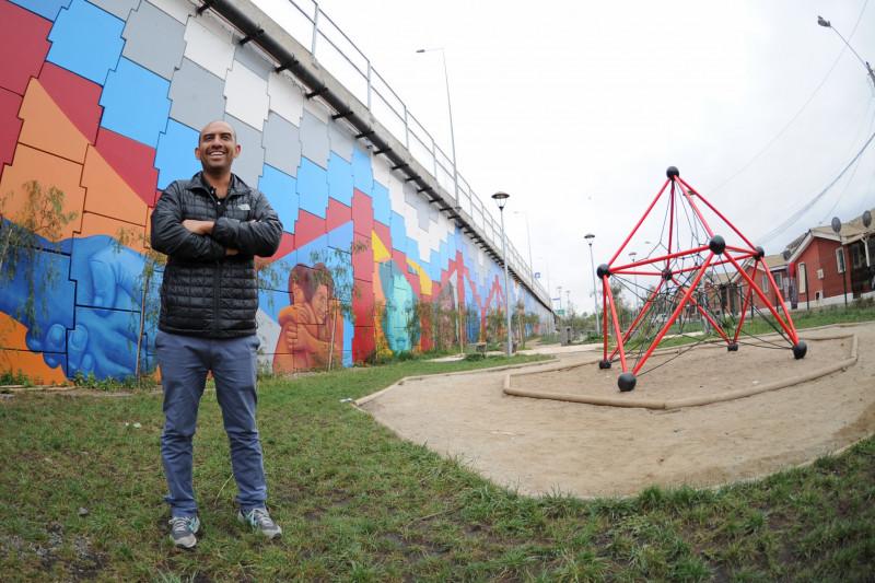 Diego Marambio, mural
