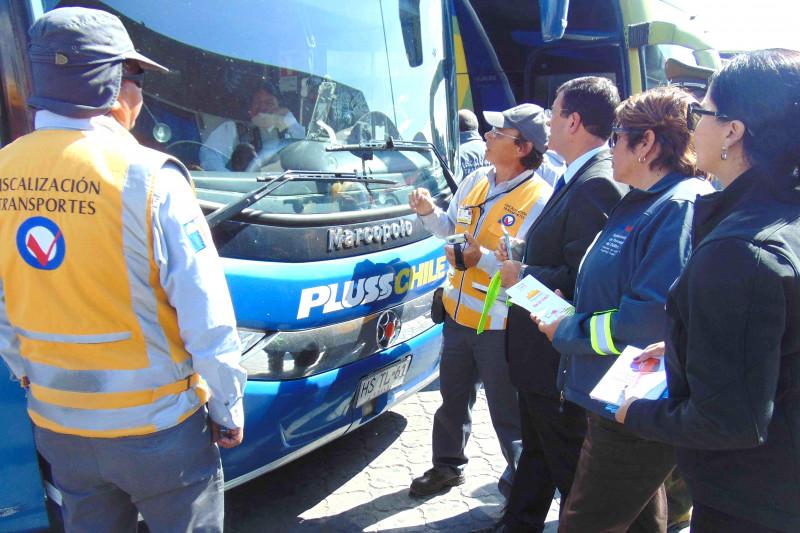 Fiscalización, buses