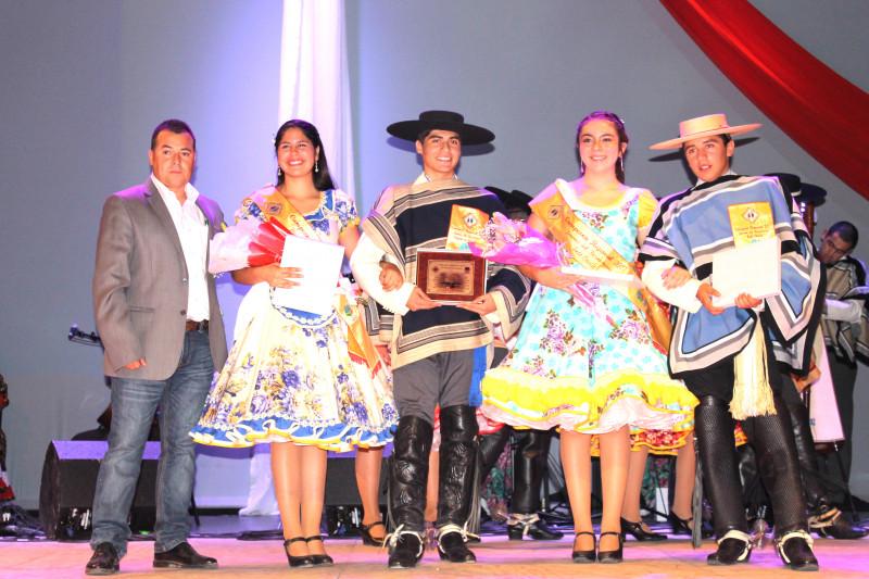 Yain Villanueva y Pedro Rojas, cueca