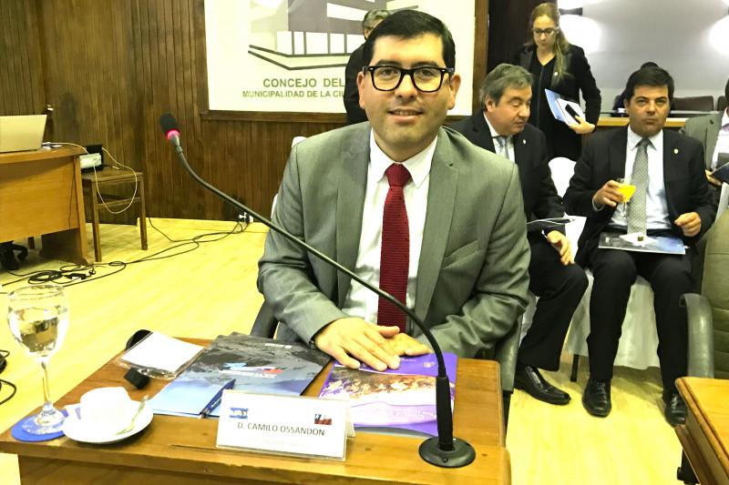 Camilo Ossandón, alcalde, Monte Patria