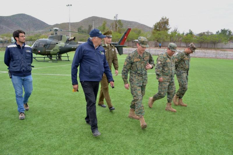 Ejército se suma a labores de reconstrucción en Monte Patria