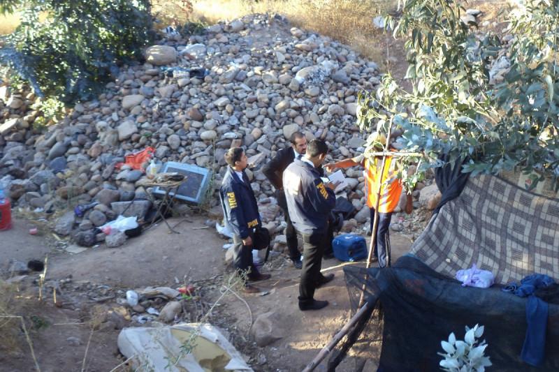 Encuentran cuerpo  de mujer en situación  de calle en Los Peñones