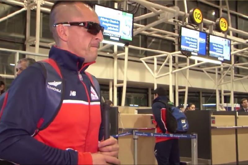 Atleta ovallino alista su entrenamiento para clasificar a Río