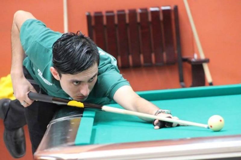 Maximiliano Ossandón obtiene segundo lugar en torneo de pool chileno