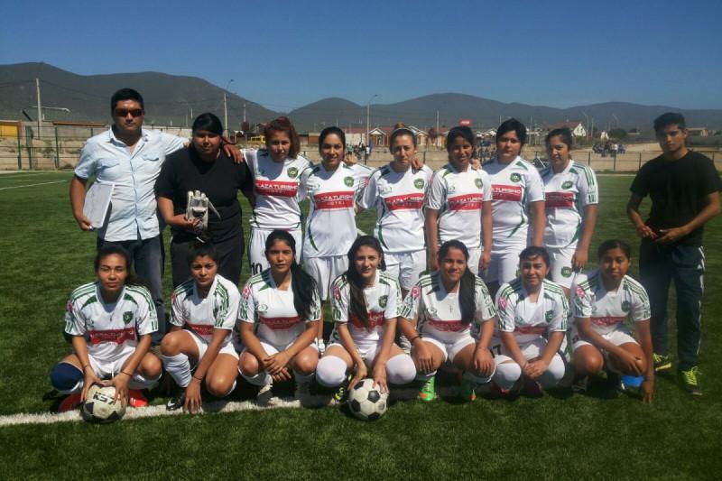 Deportes Ovalle femenino gana en torneo preparatorio