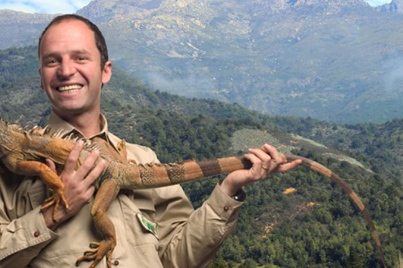 Reconocido entomólogo visita la provincia