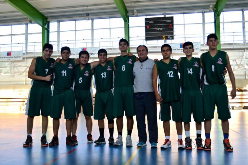 Básquetbol limarino inicia liga regional con partidos en la provincia del Choapa