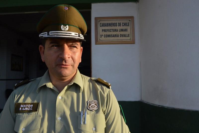 Tercera Comisaría tiene nuevo mayor de Carabineros