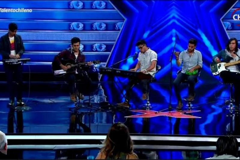 "Banda Ovallina sorprende en ""Talento Chileno"""