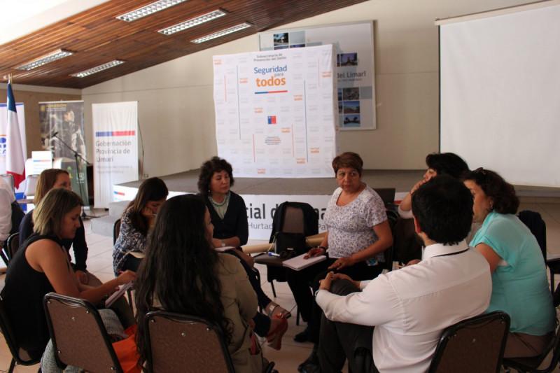 Crean primera Red  de Asistencia a  Víctimas en el Limarí